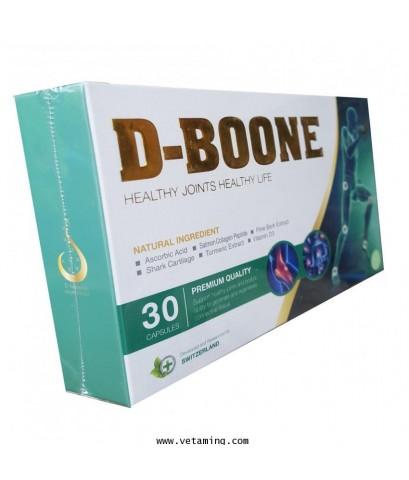 ดีบูน D-Boone อาหารเสริมบำรุงกระดูกและข้อ ขายส่ง ราคาถูก ส่งฟรี EMS พร้อมของแถม