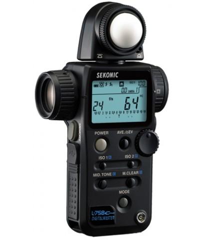 เครื่องวัดแสง Sekonic L-758 Cine