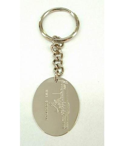 พวงกุญแจทองเหลือง a026