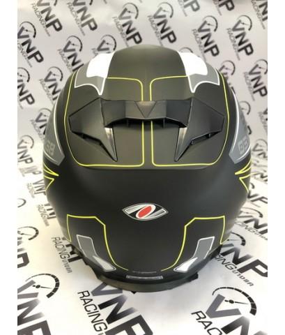 หมวก REAL รุ่น T-Hawk Tech ดำ-เทา (ด้าน)