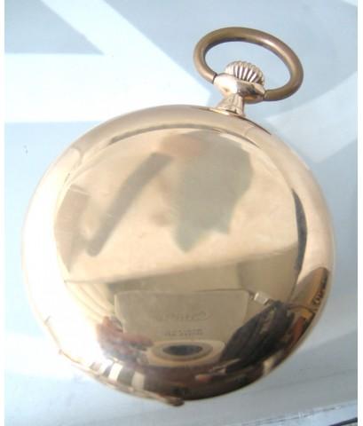 นาฬิกาพก omega 1940 ระบบไขลาน ขนาด 50mm  หน้าปัดเซรามิคพิมพ์โรมันดำ เดินเวลา 2 เข็มครึ่ง (blue steel