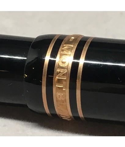 MONTBLANC Meisterstruck 75 Year 146 Limited 0808/1924 Anniversary Fountain pen วัสดุตัวด้าม Black Re