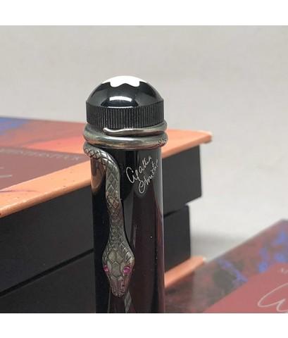 ปากกาหมึกซึม MONTBLANC 4810 ปี 1993 Limited 10812 / 30000 Agatha Christie ปลายปากเขียน 18k 750 Type