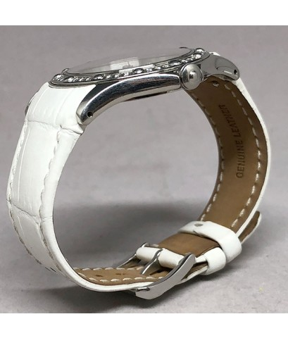 Raymond Weil Tango Diamond Quartz date, Men\'s watch / Unisex size 38mm, หน้าปัดมุขขาวประดับหลักเวลา