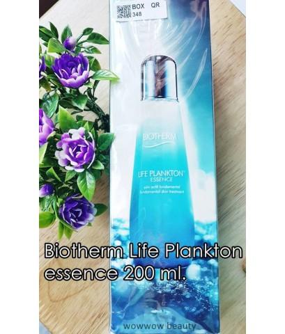 (หมดค่ะ) Biotherm Life Plankton Essence 200 ml. น้ำตบ เอสเซนต์แพลงตอน ฟื้นฟูผิว ลดสิว หน้าใส