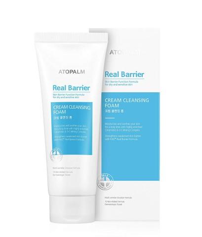 (พร้อมส่ง) Atopalm Real Barrier Cream Cleansing Foam 150 ml. โฟมล้างหน้า เพิ่มความชุ่มชื้น
