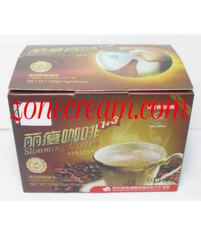 กาแฟลิโช่ สลิมมิ่ง 1+3 Lishou Slimming Coffee