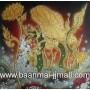 เฟลมภาพพญานาคราชทองมหามงคล