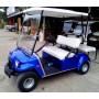 รถกอล์ฟไฟฟ้าโซล่าเซลล์ Cario 2-4 ที่นั่ง ปี 2009 สีน้ำเงิน บูรณะใหม่