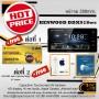 kenwood ddx918ws สุดยอดเทคโนโลยี จอHD เล่นไฟล์เสียง Hi-Res ,FlacDSDได้จริง ฟรีของแถมอีกเพียบโทรเลย