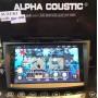 Alpha coustic จอAndroid ตรงรุ่นรถ SUZUKI Swift  ปี 2011-2017 ( Ram 2 GB / Rom 16 / 4 Core )
