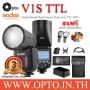V1S Godox Flash Auto TTL For Sony V1 Series with Battery แฟลชโกดอกพร้อมแบตเตอรี่