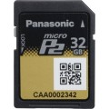 Panasonic AJ-P2M032AG Micro P2 Card 32 GB