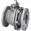 KITZ Stainless Steel Ball Valve SCS13A W.O.G. 10k Psi. Flanged End Size 10 Inch. model. G-10UTB