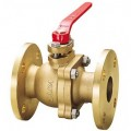 KITZ Bronze Ball Valve W.O.G. 10k Psi. Flange End to B2240 Size 2-1/2 Inch. model. TB
