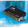 1000 Mbps to SX Media Converter, RJ45/SC(MM.), fiber, (Up to 220/500m.)