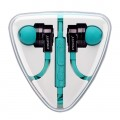 Pisen G106 Hifi In-Ear for Android malachite green