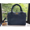 Tory Burch Saffiano Boston Handbag  Shoulder Bag