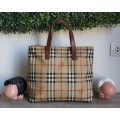Burberry Canvas Handbag Tote