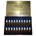 Bergamo Luxury Gold CollagenCaviar Wrinkle Care Intense Repair Ampoule Set 20