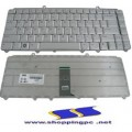 Keyboard -DELL XPS M1330 - Vostro 1000 1400 1500 - Inspiron 1420 ,1520 ,1525 สีเทา
