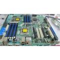 Ultrafine X8DAI 5520 workstation chipset 12 memory slots on the motherboard and other high-end CPU 5