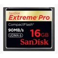 SanDisk Extreme pro 16GB. Compack Flash Memory