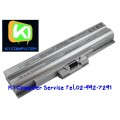 BATTERY SONY VAIO SR Series,VGP-BPL13 BPS13 / สีเงิน