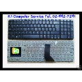 Keyboard Notebook gt; Compaq Presario CQ70 G70 Series / Silver