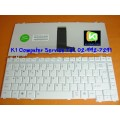 Keyboard Notebook gt; Toshiba Satellite M200 M205 L200 M300 L300 Series gt; สีขาว / ภาษาไทย