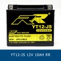 RR YT12-JS YTX12-BS แบตเตอรี่แห้ง มอเตอร์ไซต์ motorcycle battery