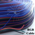 สายไฟ 4 สี  Electrical Cable 4pin Wire, 22awg PVC 300V.