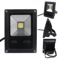 สปอร์ตไลท์Slim 10W 220V LED Floodlight Black IP65 Cool