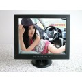 Mornitor 12 inch TFT LCD monitor/AV/VGA/TV รับประกัน 1 ปี