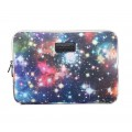 LISEN® Riverer Blue Starry Sky Waterproof Canvas Fabric - macbook 13 inch