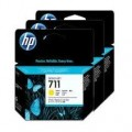 HP 711 3Pack 29-ml Yellow Ink Cartridge (CZ136A)