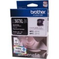 LC-567XLฺBK ฺBROTHER BLACK INK