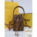Fendi Mon Tresor Small FF Bucket Bag