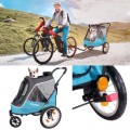Ibiyaya Happy Pet Trailer/ Jogger 2.0 สี Ocean Blue