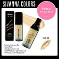 Primer Foundation Sivanna Colors ไพรเมอร์ HF549(No.21) 30ml.