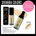 Primer Foundation Sivanna Colors ไพรเมอร์ HF549(No.23) 30ml.