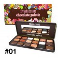 SIVANNA COLORS Chocolate Palette No.01 (HF7006)