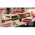 YSS steering damper โช้คกันสะบัด Racing Steering Damper Platinum color 78mm. Stroke