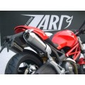 MONSTER 795/796/1100 : ZARD CONIC DUAL SLIP ON TITANIUM EXHAUST