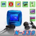 "AOIP N-339 - 2GB W/ 1.0"" CTSN Display MP3 Player"