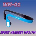 WM-01 TF CARD SPORT HEADSET MP3 PLAYER WITH FM