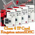 16GB TF Card Kingston microSDHC – Class 4