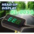 KL-005A Head-Up Display With Battery Volt-Meter
