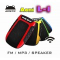 AONI L1- Mini Portable FM Radio / MP3 / Speaker