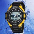 OHSEN – AD1302-5: Dual System Alarm / Chronograph Sports Watch